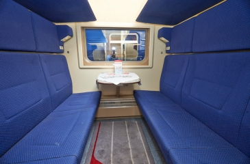 Интерьер купейного вагона Нижегородец